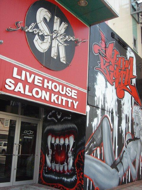 LIVEHOUSE SALONKITTY