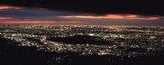 道の駅 ふじみ 富士見温泉 見晴らしの湯ふれあい館の夜景