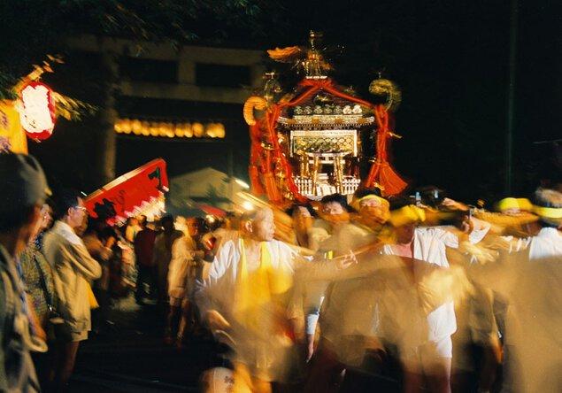 佐伯燈籠祭 人形浄瑠璃