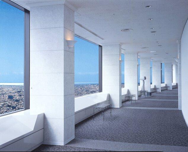 オークラアクトシティホテル浜松45階 展望回廊