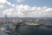 青森観光物産館アスパム 13階展望台