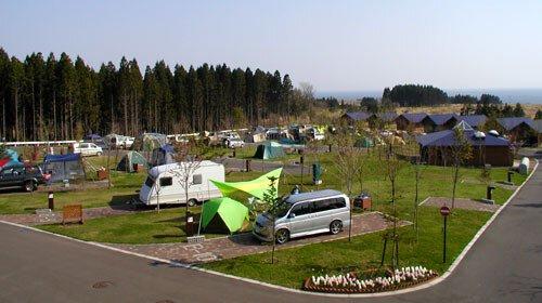 白石公園はこだてオートキャンプ場