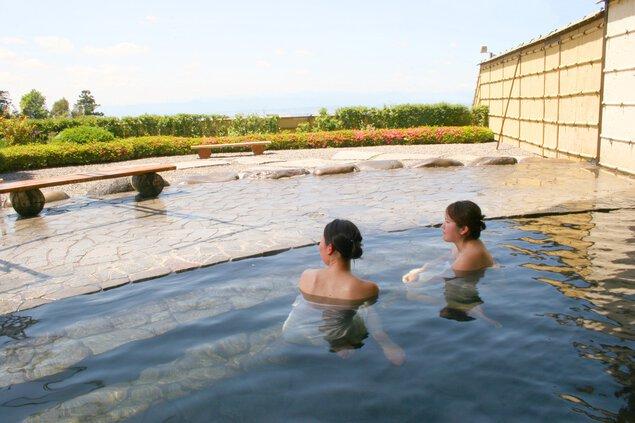 道の駅 ふじみ 富士見温泉 見晴らしの湯ふれあい館
