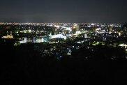 妙見山公園の夜景