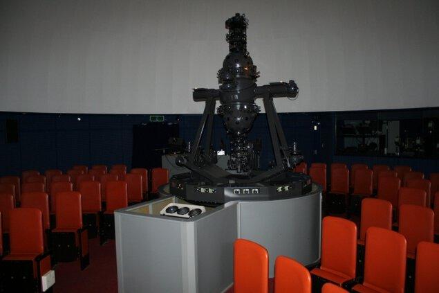 厚岸町海事記念館のプラネタリウム