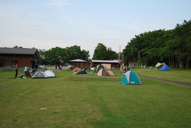 シラルトロ湖キャンプ場