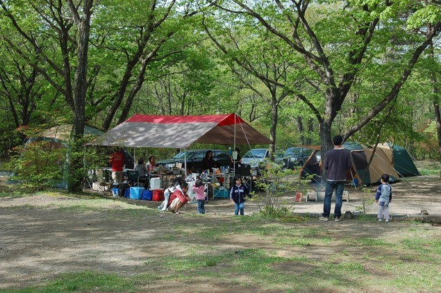 榛名湖オートキャンプ場