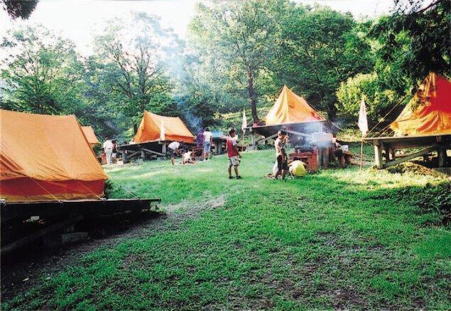 八丁キャンプ場