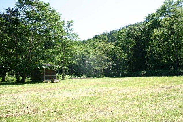 天塩岳道立自然公園ウエンシリキャンプ場