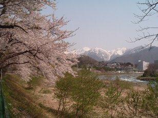 水上温泉(諏訪峡付近)