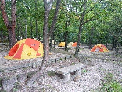 一向平キャンプ場