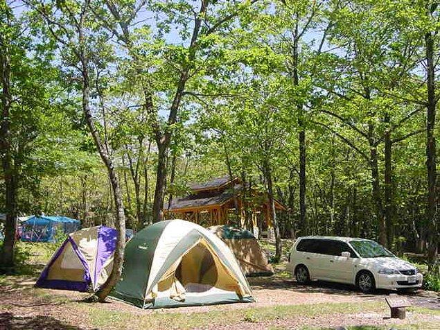 鏡ヶ成キャンプ場