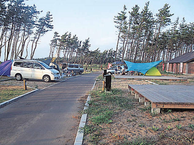 宮沢海岸オートキャンプ場キャンパルわかみ