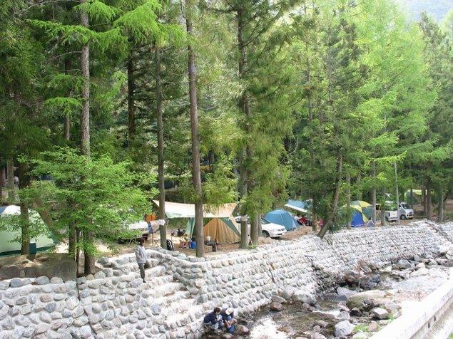 森の隠れ家ビッグホーンオートキャンプ場