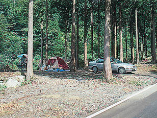 福士川渓谷青少年旅行村奥山キャンプ場
