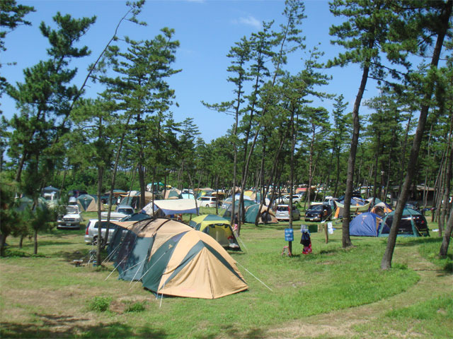 休暇村能登千里浜シーサイドオートキャンプ場