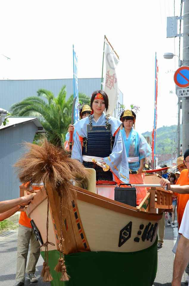 三島水軍 鶴姫まつり