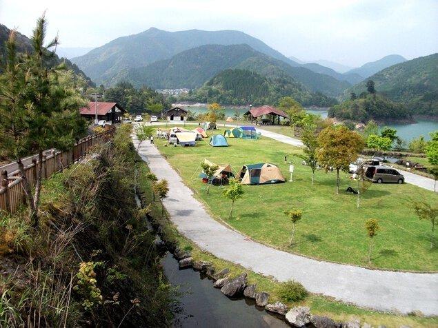 魚梁瀬森林公園オートキャンプ場