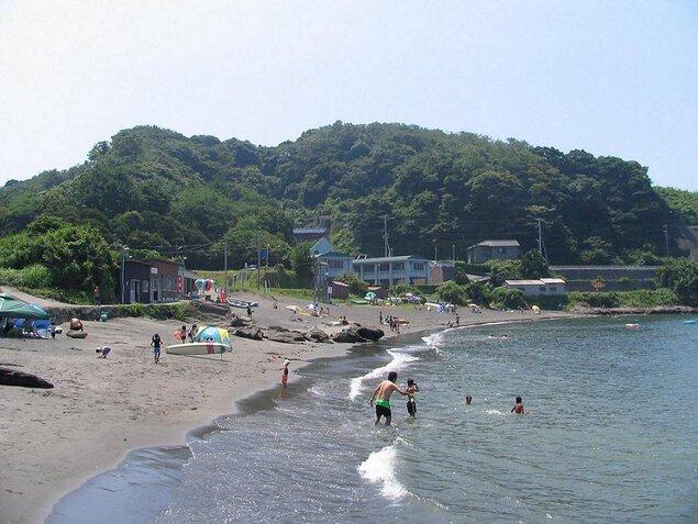 津浜海水浴場