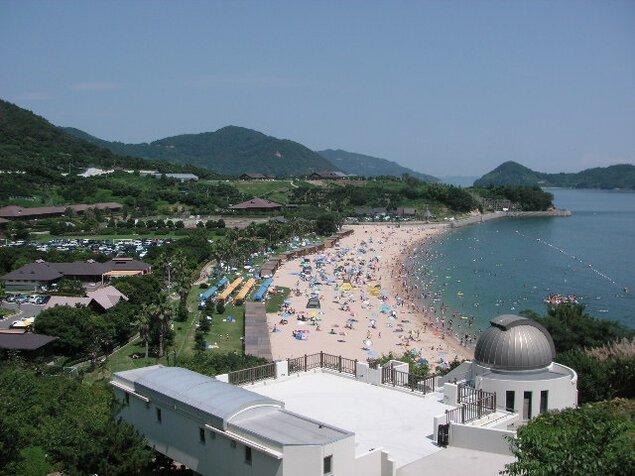 県民の浜海水浴場