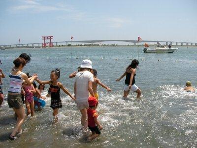 弁天島海浜公園海水浴場