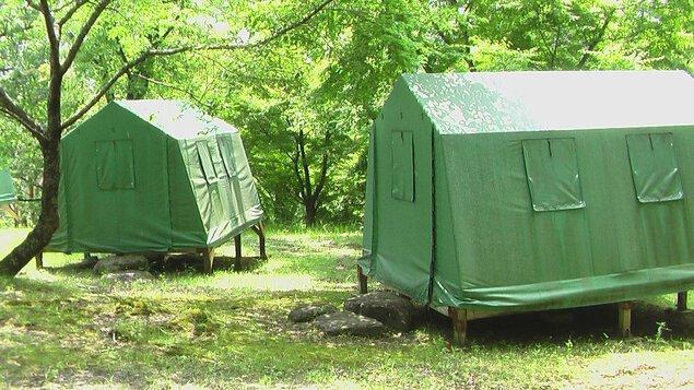 ままこ滝キャンプ場