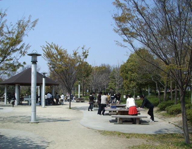 鶴見緑地バーベキュー場