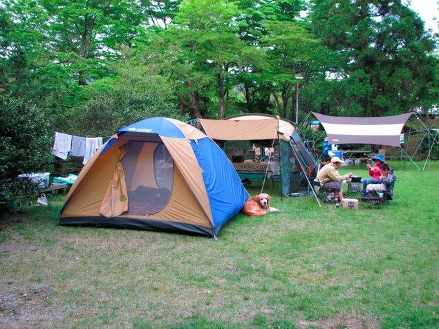 白雲の池キャンプ場