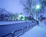 致道博物館(旧西田川郡役所・旧鶴岡警察署庁舎)、大宝館(鶴岡公園内)