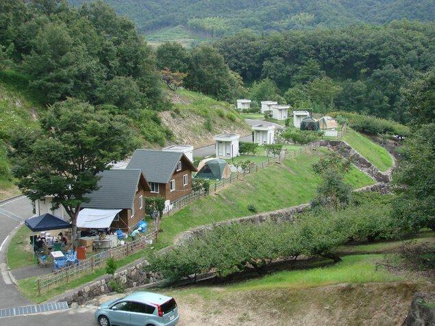 小豆島ふるさと村キャンプ場