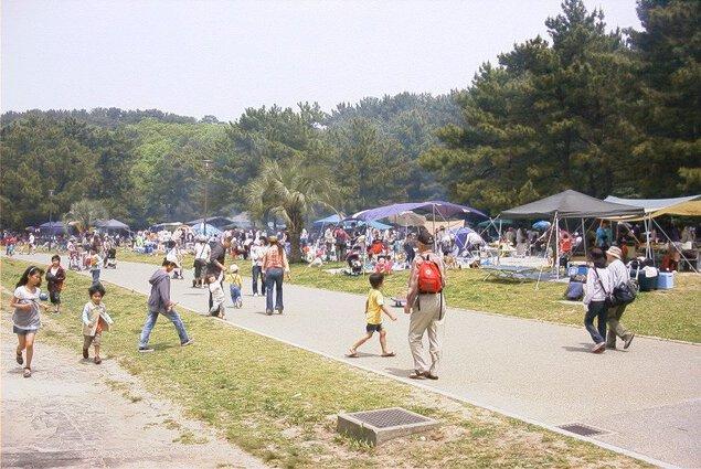 小戸公園バーベキュー広場