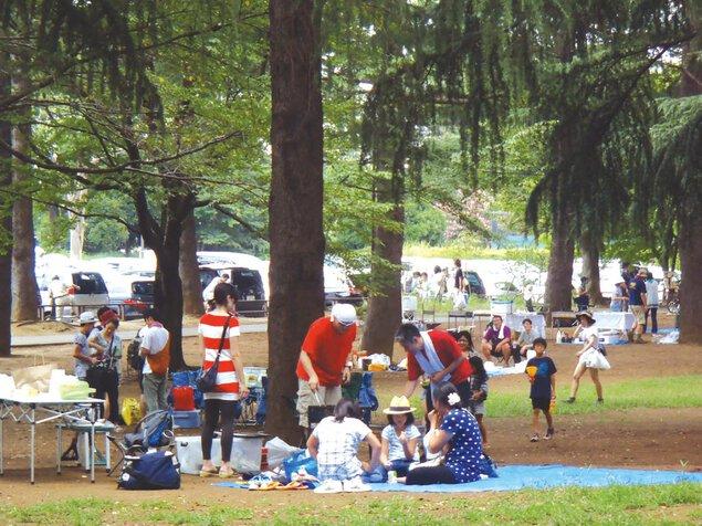 野川公園バーベキュー広場