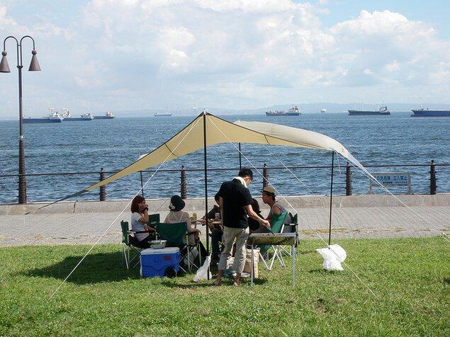 大黒ふ頭海づり公園 デイキャンプ&BBQ ガーデン