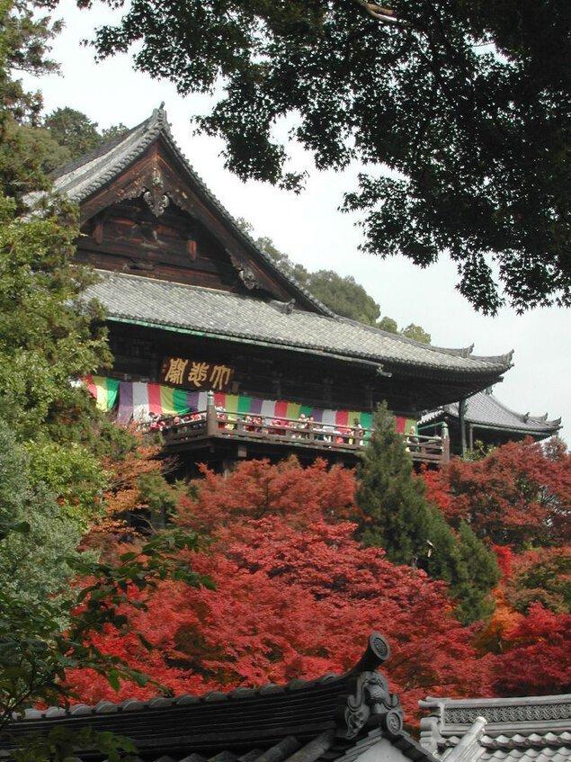 長谷寺(奈良県)の紅葉