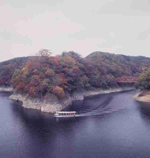 【紅葉・見頃】帝釈峡(神龍湖)