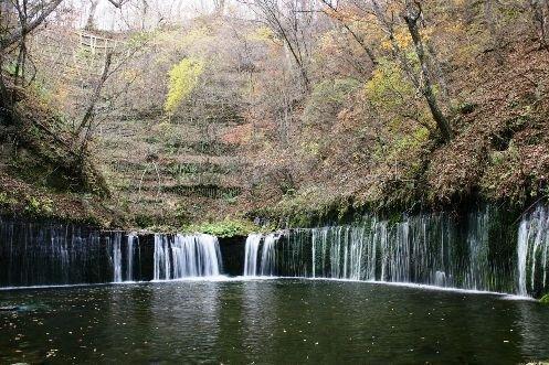 軽井沢(白糸の滝)の紅葉