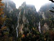層雲峡(流星・銀河の滝)