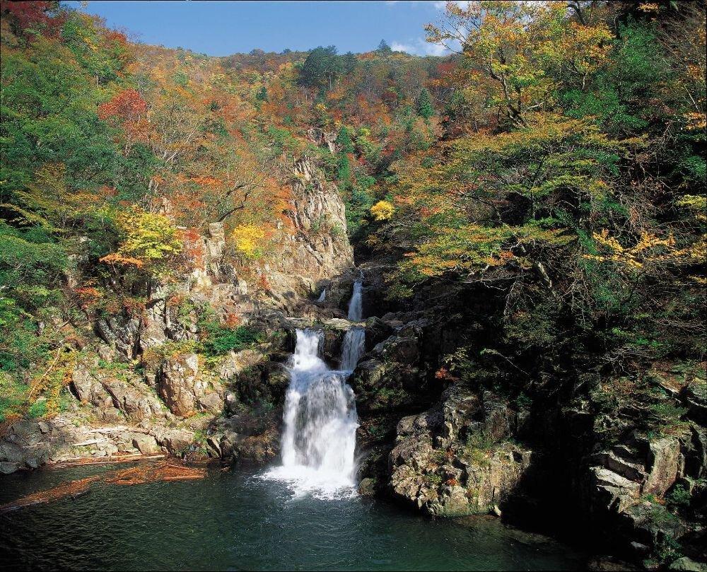 三段峡(二段滝・三段滝・三ツ滝)