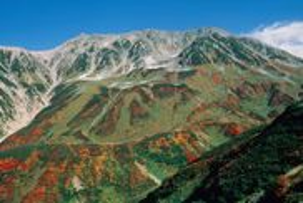 立山(室堂平:標高2450m付近)
