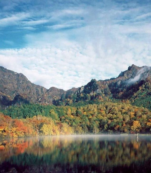戸隠高原の紅葉