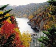 定山渓(豊平峡ダム)