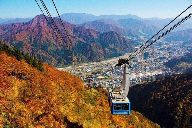湯沢高原パノラマパークの紅葉
