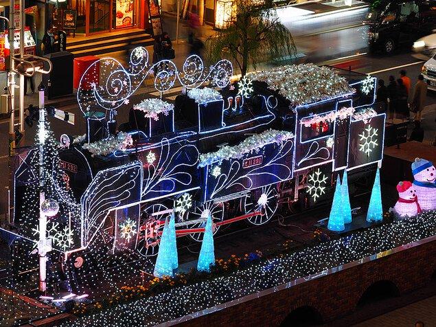 2018新橋クリスマスイルミネーション