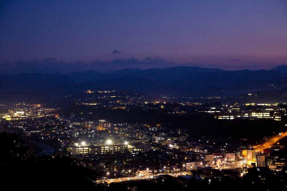 卯辰山公園の夜景