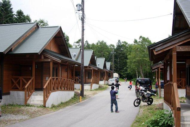 御岳自然休養林胡桃島キャンプ場