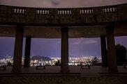 松山総合公園の夜景
