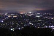芦山公園の夜景