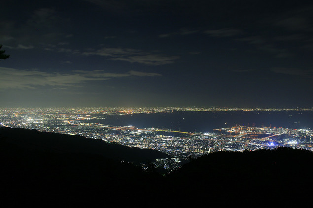 六甲山 天覧台の夜景