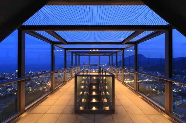 ビーコンプラザ グローバルタワーの夜景
