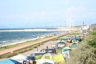新潟県立紫雲寺記念公園オートキャンプ場